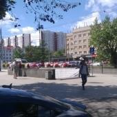 На фото видно, что квартира недалеко от станции метро Академическая