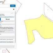 На карте росреестра изображение участка у Карамышево