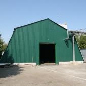 Ангар сдаётся под склад с отоплением и санузлом во 2-ом Южнопортовом пр-де