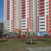 Вид нового дома в Левобережном