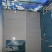 Ванная комната, в таких квартирах санузел разделен