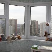 Вид из окна большой комнаты