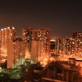 Ночной вид-панорама из окон