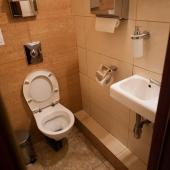 Как туалет выглядит внутри (качество!)