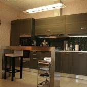Кухня с супер-мебелью