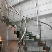 Витая лестница - тут тоже применяли триплекс