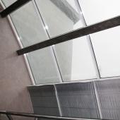 Прозрачные своды крыши