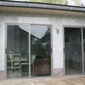 Стеклянная терраса с генератором и кухней № 2