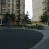 Двор дома, детская площадка, Мичуринский проспект д. 7