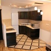 Вот кухонная зона
