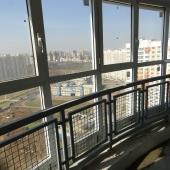 Вид из кухни с балкона