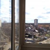 Панорама открывающаяся с лоджии восьмого этажа