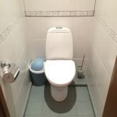 Вот фотография туалета