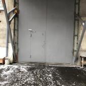 Автоматические ворота склада