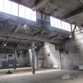 Метраж склада около 800 м2, на улице еще 225 м2 прилегающей территории