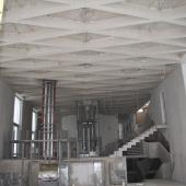 Дом под отделку - вид изнутри