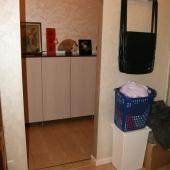 Это выход из гардеробной в общий квартирный коридор