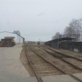 Есть склад, санузлы, столовая на территории этой площадки в поселке городского типа Львовский