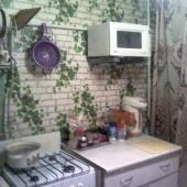 Кухня, несколько в советском стиле, но пригодна для аренды!