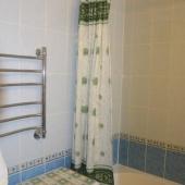 Еще одно фото ванной комнаты в Новокосино