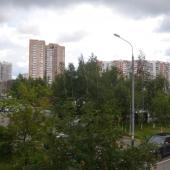 Летом очень зелено и хороший воздух