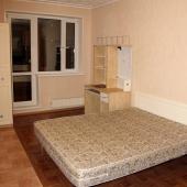 В этой комнате на Бакулева вот такое спальное место