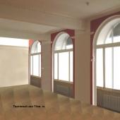 План-фото первого зала