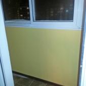 Застекленная лоджия, вход через жилую комнату