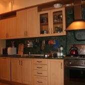 Кухня, встроенная техника, двухкомнатная квартира, Кутузовский 35