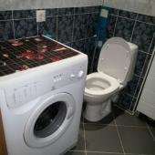 Куда же без стиральной машины!? да еще на съемной квартире!