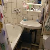 Санузел совмещен в этой квартире на ул. 26 Бакинских Комиссаров, 3к3
