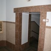 Вид подъезда в доме, Кутузовский 35