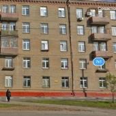 Фотография из Яндекс.карты этого дома, в котором сдается 1-комн. квартира