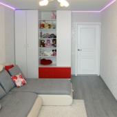 Еще одна фотография детской комнаты - площадь 16 метров