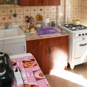 Кухонный уголок нашей квартиры, где сдается комната в аренду