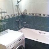 Здесь видно ванную