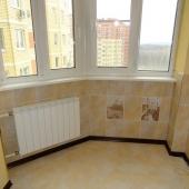Это часть балкона, которую соединили со спальней