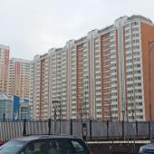 Сам дом на улице Москвитина