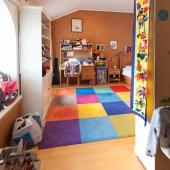 Вид этой же комнаты от ниши до другой стены