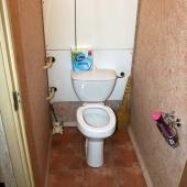 И посмотрим сам туалет
