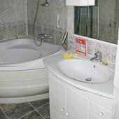 Ванная комната уже имеет свой ремонт