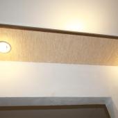 Подвесная панель для света в первой комнате