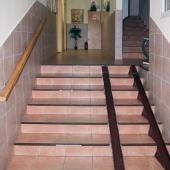 Лестница для колясок и сумок на колесиках