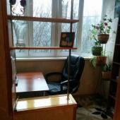 Есть лоджия - стол и кресло