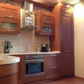 Кухня с современной мебелью, как вы можете убедиться!