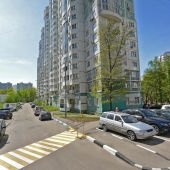 И главная фотография самого дома № 36 корпус 5 по улице Новаторов в Москве