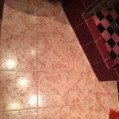 Такой пол в ванной комнате