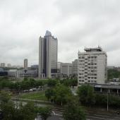 Вид из окна налево