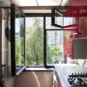 Вид из кухонного окна