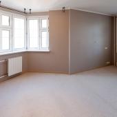 Мебели нет, но ремонт на уровне